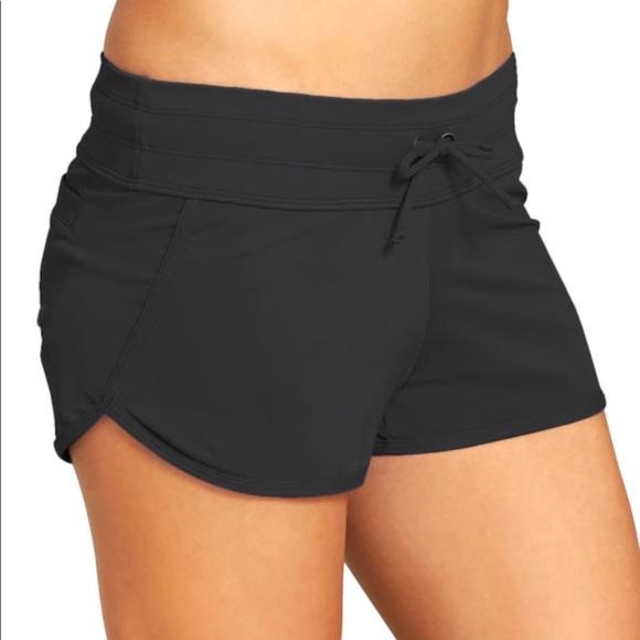 76686ae08c625 Athleta Other - NWOT Athleta Kata Swim Shorts Black XL